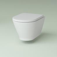 Elegant Rimless wall-hung toilet