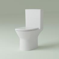 Elegant Rimless squat toilet
