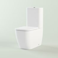 One squat toilet