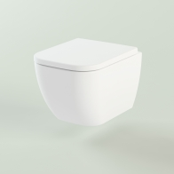 One Compacto wall-hung toilet