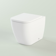 One wall-standing toilet