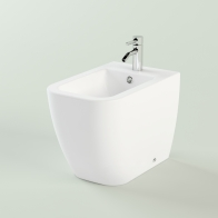 One floor-mounted bidet