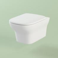 Bristol rimless wall-hung toilet