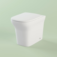 Bristol wall-standing toilet