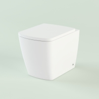 Aveo Rimless wall-standing toilet