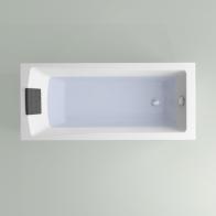 One acrylic bath
