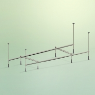 Complement metal frame with mounting kit