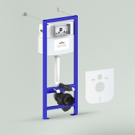 RelFix installation system for wall-hung toilet