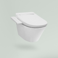 Smart V-Clean wall-hung toilet