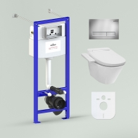 RelFix Smart V-Clean Set 5 in 1 for wall-hung toilet