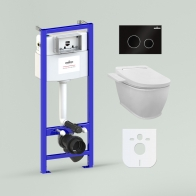RelFix Smart F-Control Set 5 in 1 for wall-hung toilet
