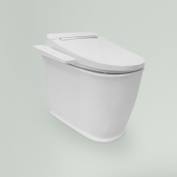 Smart F-Control wall-standing toilet