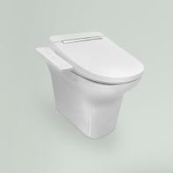 Smart N-Flash wall-standing toilet