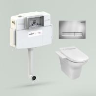 RelFix Smart N-Flash Set 4 in 1 for floor toilet