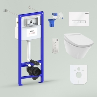 RelFix Smart V-Clean Multi Set 6 in 1 for wall-hung toilet