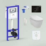 RelFix Smart F-Control Multi Set 6 in 1 for wall-hung toilet