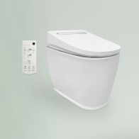 Smart F-Control Multi wall-standing toilet