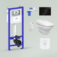 RelFix Smart N-Flash Multi Set 6 in 1 for wall-hung toilet