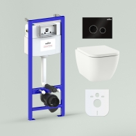 RelFix One Set 6 in 1 for wall-hung toilet