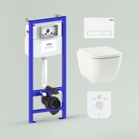 RelFix One Compacto Set 6 in 1 for wall-hung toilet