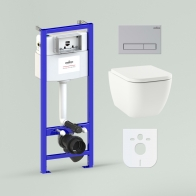 RelFix One Rimless Set 6 in 1 for wall-hung toilet