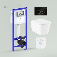 RelFix Aveo Rimless Set 6 in 1 for wall-hung toilet