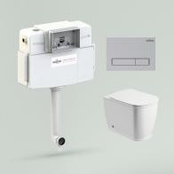 Relfix Bell Pro Set 4 in 1 for floor toilet