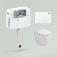 Relfix One Set 4 in 1 for floor toilet