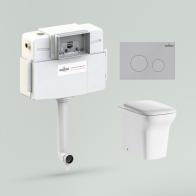 Relfix Bristol Set 4 in 1 for floor toilet