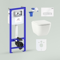RelFix One Compacto Set 7 in 1 for wall-hung toilet