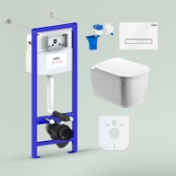 RelFix Bell Pro Rimless Set 7 in 1 for wall-hung toilet