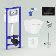 RelFix Biore Rimless Set 9 in 1 for wall-hung toilet