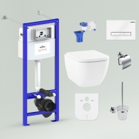 RelFix One Set 9 in 1 for wall-hung toilet
