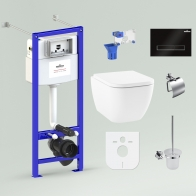 RelFix One Rimless Set 9 in 1 for wall-hung toilet