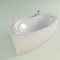 Elegant acrylic bath