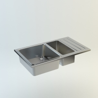 Vivi steel kitchen sink