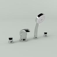 Elegant bath faucet