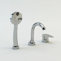 One bath faucet