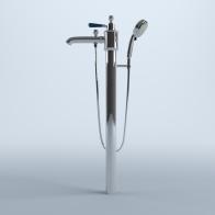 Art bath faucet