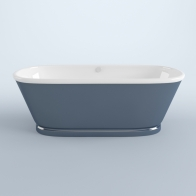 Art cast iron bath