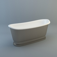 Catani cast iron bath